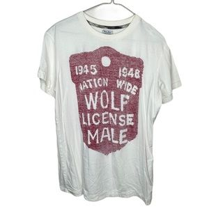 Never Sleep by Rogues Gallery Wolf License T-Shirt